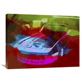 NAXART Studio 'Datsun' Stretched Canvas Wall Art