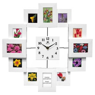 Infinity Instruments Time Capsule Novelty 15.75-inch Indoor Wall Clock