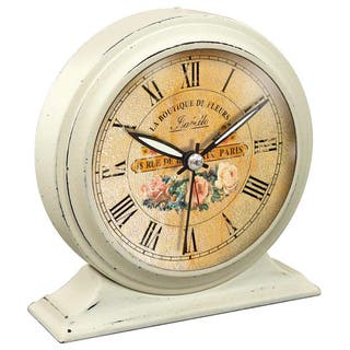 Infinity Instruments Boutique Alarm Tabletop Clock|https://ak1.ostkcdn.com/images/products/13929765/P20562202.jpg?impolicy=medium