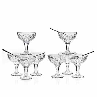 Godingers Dubline Clear Crystal 16-piece Tasters Coupe