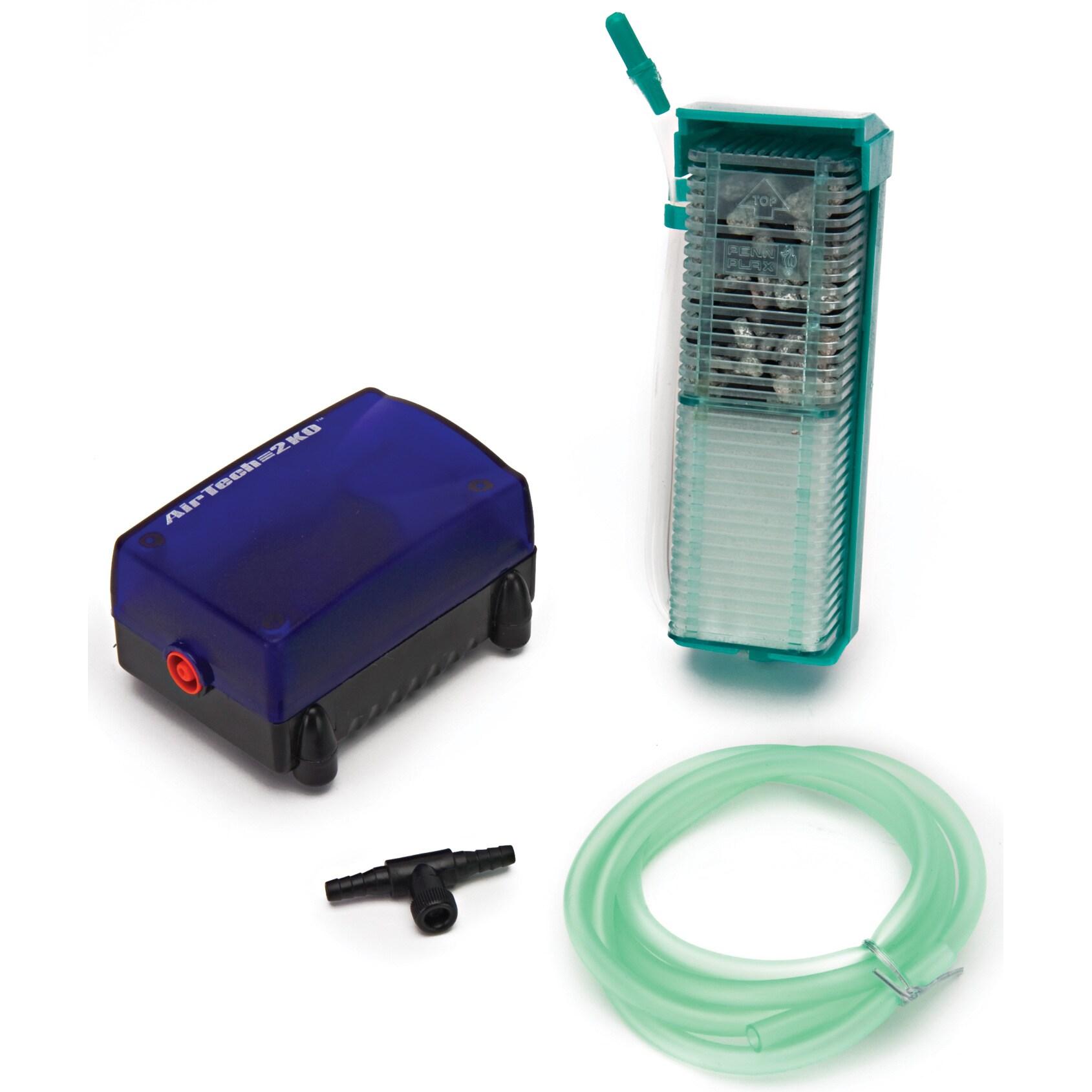 Penn Plax Aquarium Pump & Filter Kit (Pump & Filter Kit),...