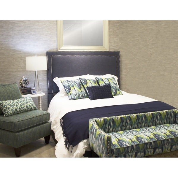 Brookside Queen Upholstered Bed with Rails and Footboard