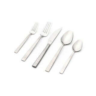 Rio Matte Satin Finish 30-piece Flatware Set with Service for 6 by Hisar