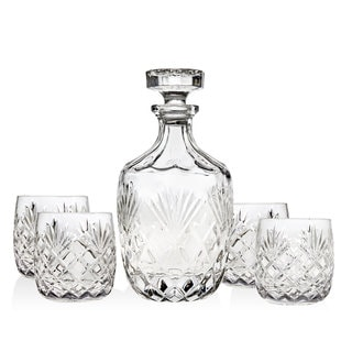 Godinger Berkshire 5-piece Whiskey Set