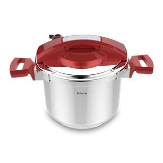 Neptune 6.3-Quart Pressure Cooker - Red
