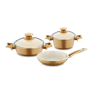 Neptune Aluminum 5-piece Cookware Set by Hisar