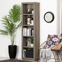 South Shore Furniture Kanji 5-shelf Narrow Bookcase