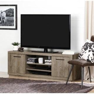 South Shore Furniture Kanji Brown Laminate TV Stand