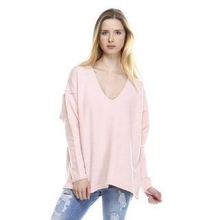 Sandra V-neck Long-sleeve Sweater
