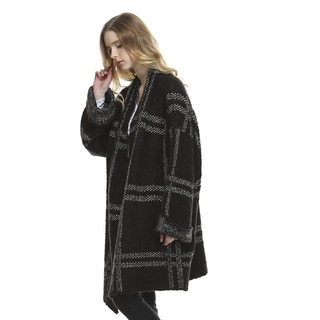 Sonia Black Long-sleeved Cardigan