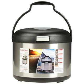 Energy-Saving Thermal Black 5-quart Cooker