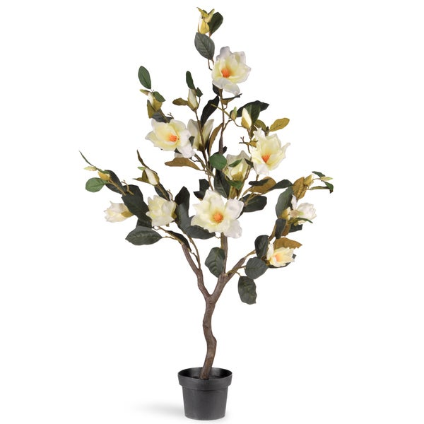 Shop National Tree Company 48 Inch Magnolia Tree Free Shipping