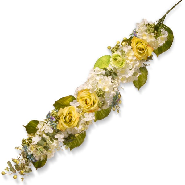 National Tree Company 48-inch Spring Flowers Garland