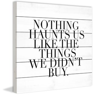 Marmont Hill - Handmade Haunts Painting Print on White Wood