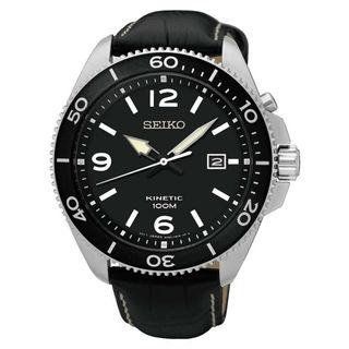 Seiko Kinetic SKA747P2 Men's Black Dial Watch