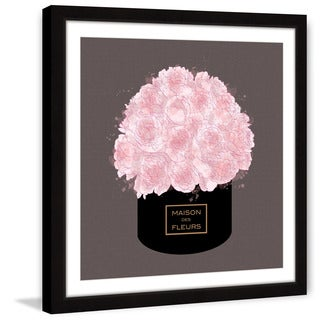 Marmont Hill - 'House of Flowers' by Loretta So Framed Painting Print