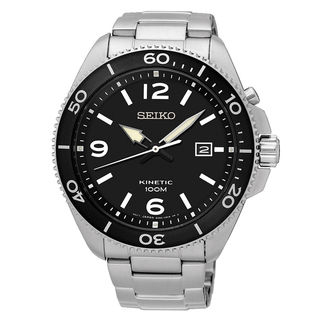 Seiko Kinetic SKA747P1 Men's Black Dial Watch