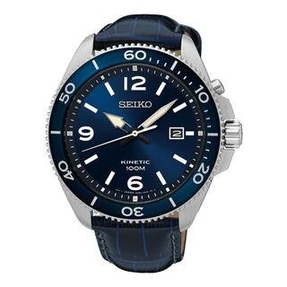 Seiko Kinetic SKA745P2 Men's Blue Dial Watch