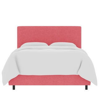 Skyline Furniture Custom Linen Upholstered Bed
