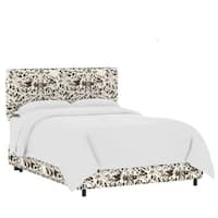 Skyline Furniture Custom Print Fabric Upholstered Bed