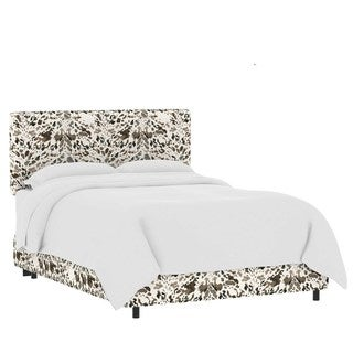 Skyline Furniture Custom Print Fabric Upholstered Bed (More options available)