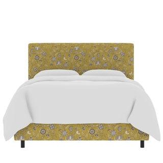 Skyline Furniture Custom Print Fabric Upholstered Bed