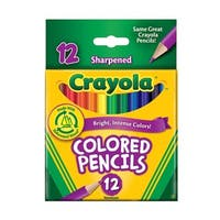 Crayola Short Colored Pencils (Pack of 12)