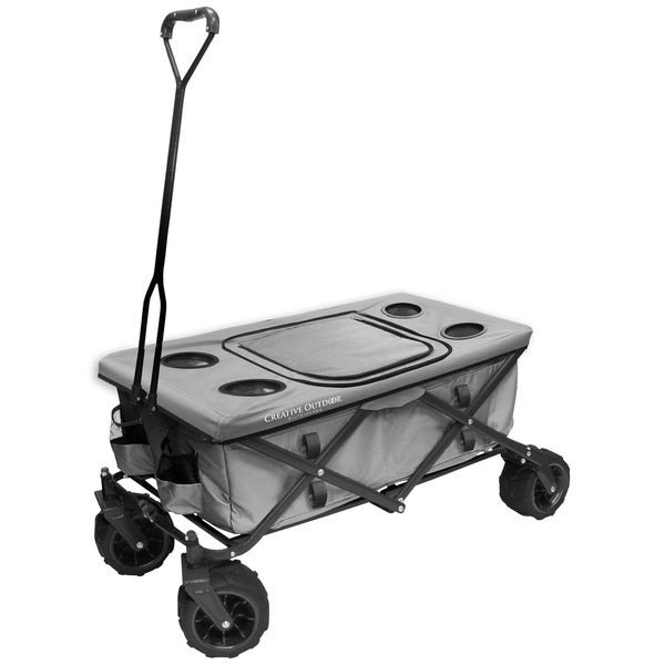 Fold Wagon All Terrain Table Grey