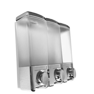 Rucci 3-chamber Bath Liquid Dispenser