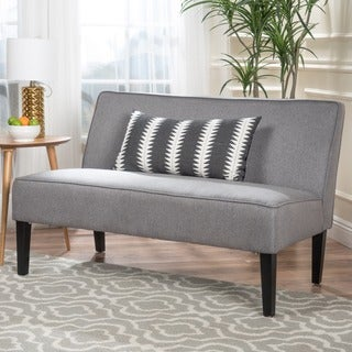 Genial Dejon Fabric Loveseat By Christopher Knight Home