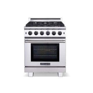 american range 30 inches cuisine series 5 burner stainless steel gas range