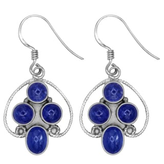 Link to Tanzanite Sterling Silver Round Dangle Earrings by Orchid Jewelry Similar Items in Earrings