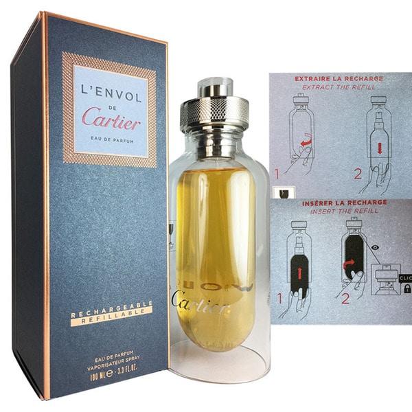 132eff74196 Shop Cartier L Envol de Cartier Men s 3.3-ounce Eau de Parfum Spray - Free  Shipping Today - Overstock - 13932421