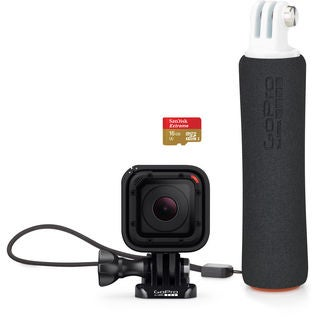 GoPro HERO Session Bundle with Floating Hand Grip & microSDHC