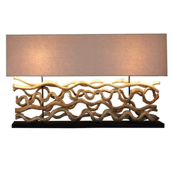 Aspen Driftwood Table Lamp