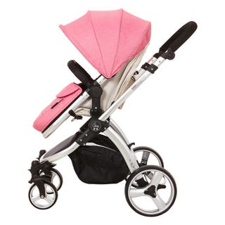Elle Baby Journey Convertible Pram Stroller|https://ak1.ostkcdn.com/images/products/13932700/P20564548.jpg?impolicy=medium