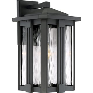 Quoizel Everglade Earth Black Large GU24-base CFL Wall Lantern