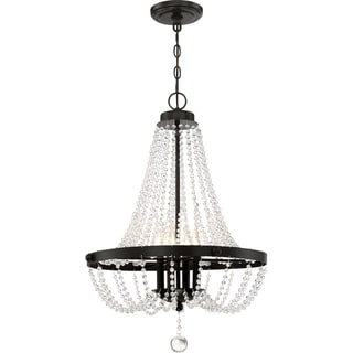 Livery Pendant With 4 Lights in Western Bronze Finish