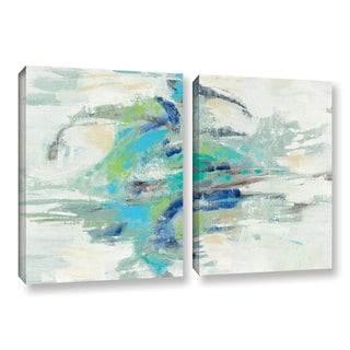 Silvia Vassileva's River Whirlpool, 2 Piece Gallery Wrapped Canvas Set