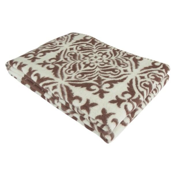Cotton Jacquard Cozy Throw Blanket