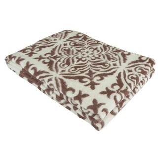 Cotton Jacquard Cozy Throw Blanket (4 options available)
