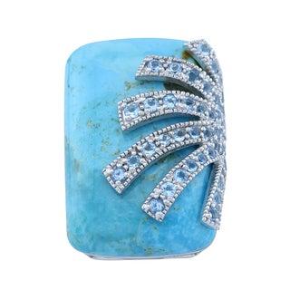 Pangea Mines Turquoise Overlay Ring