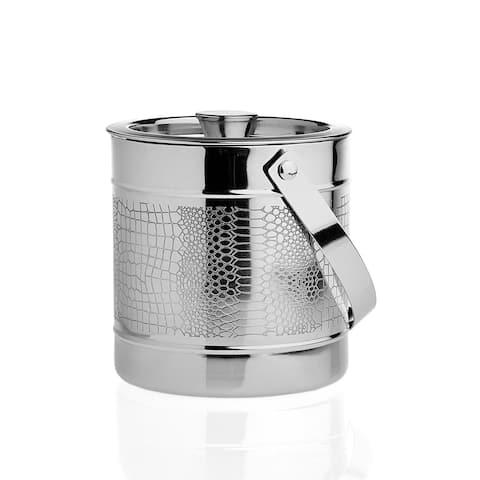 Godinger Croco Silver Metal 60-ounce Ice Bucket