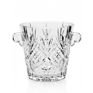 Godinger Dublin Clear Crystal Ice Bucket