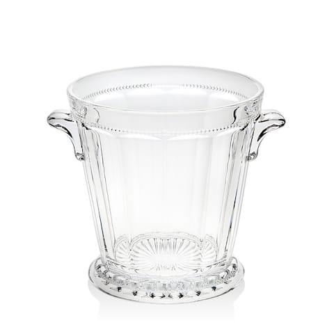 Godinger Hamilton House Clear Crystal Ice Bucket