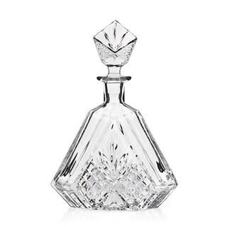 Godinger Dublin Clear Crystal Triangular Decanter