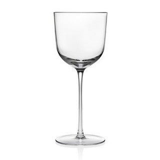 Godinger Rondo Clear Crystal 8-ounce Goblet (Pack of 4)
