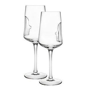 Godinger Silhoutte Crystal 14-ounce Goblet Set (Pack of 4)
