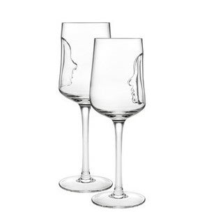 Godinger Crystal Silhoutte Wine Goblets (Pack of 4)