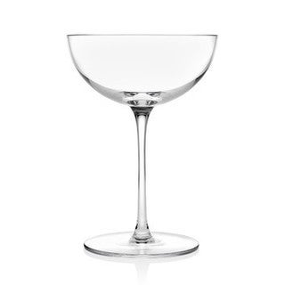 Godinger Rondo Clear Crystal Champagne Glasses (Pack of 4)
